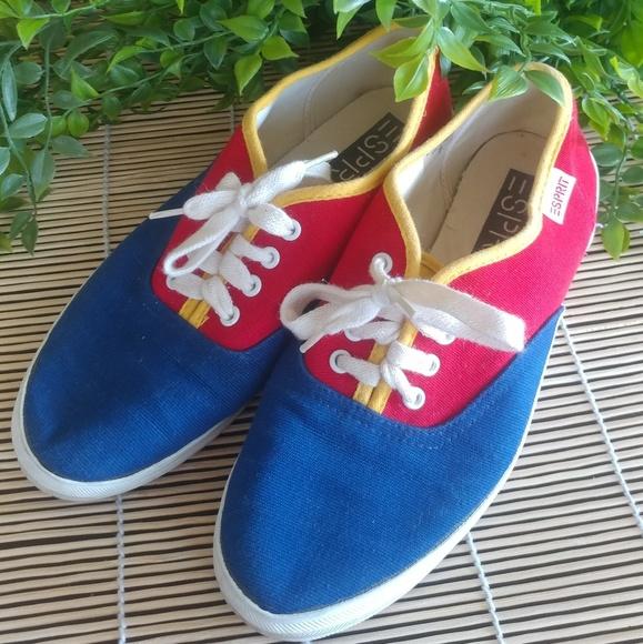 0be7080d08c45 🔴Vintage🔴 colorblock ESPRIT 80's sneakers